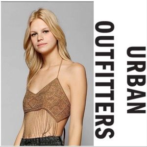 NWT Urban Outfitters Staring at Stars Halter Top